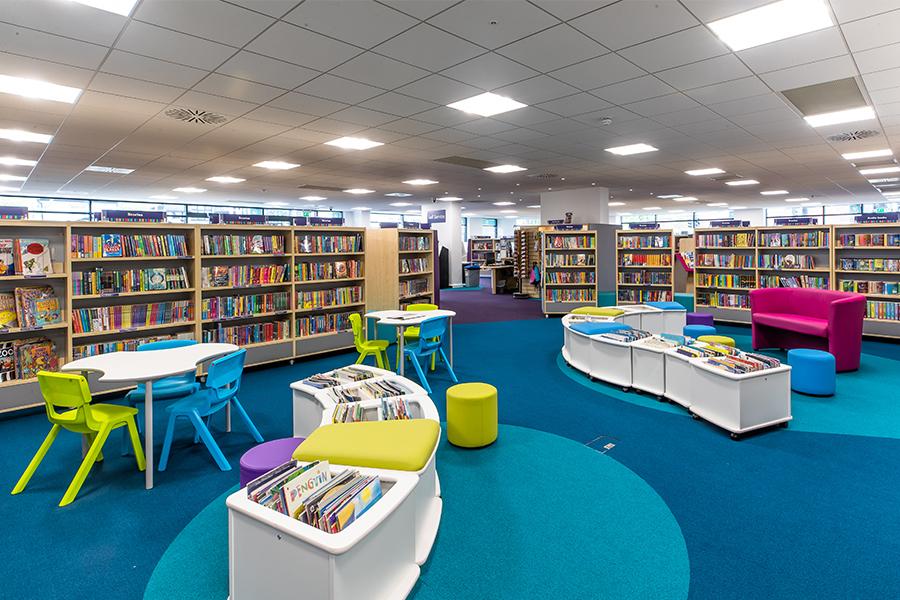 an image for Horley Library